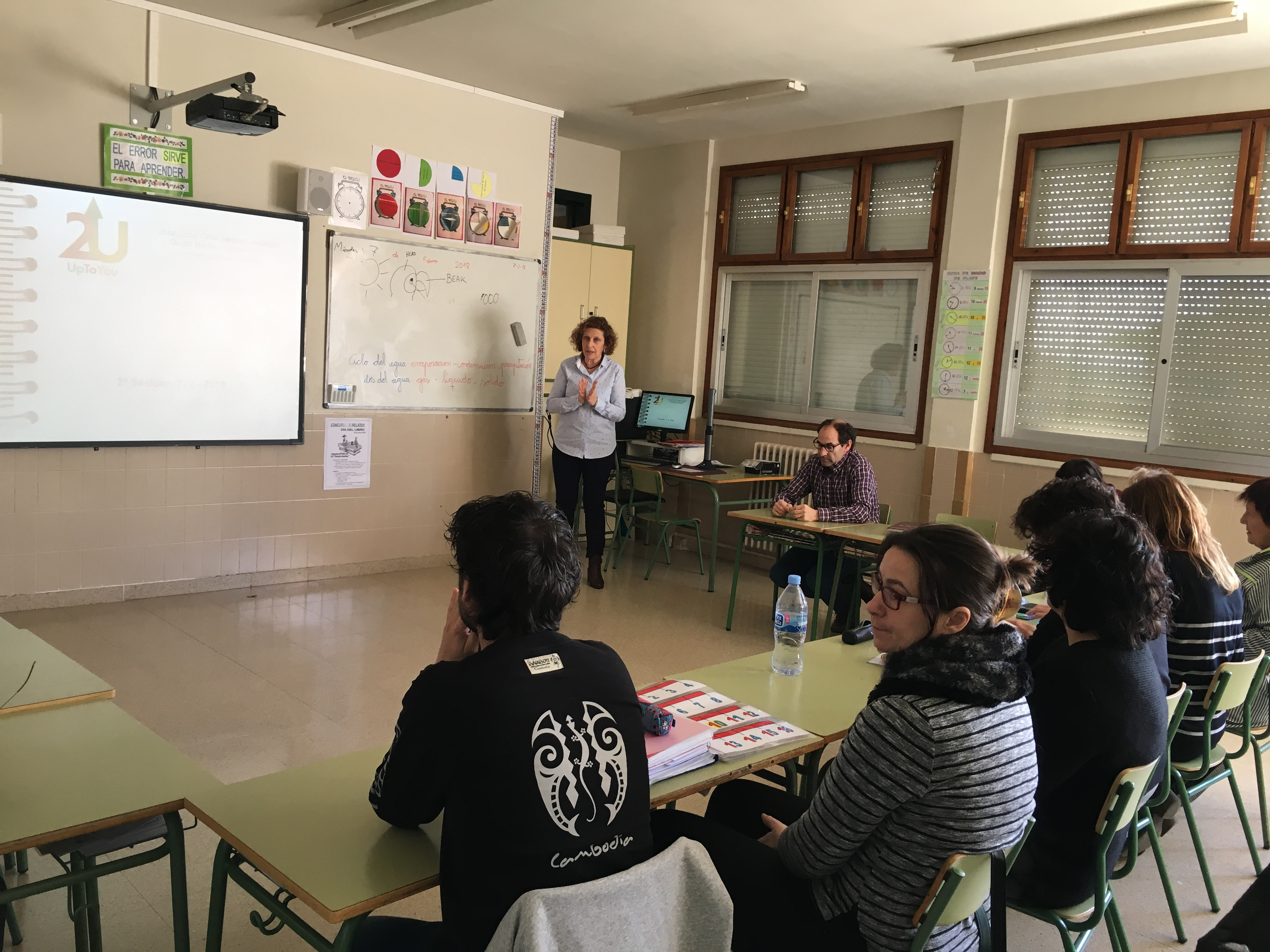 Sesión de sensibilización en Navarra